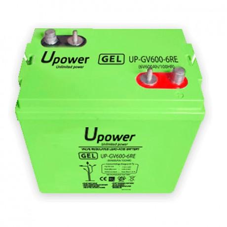 Batería Monoblock GEL UP-GV600-6RE 600Ah - 6V