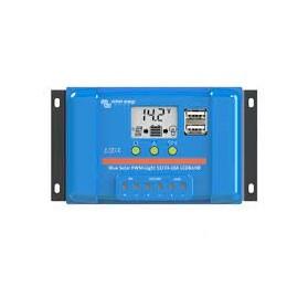 Regulador de carga Victron PWM BlueSolar 12V/24V 10A LCD-USB