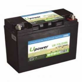 Batería de litio monoblock 12V/22 Ah U-power Ecoline