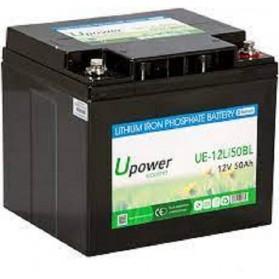 Batería de litio monoblock 12V/50 Ah U-power Ecoline
