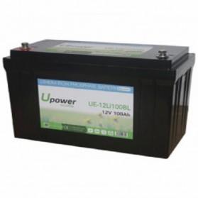 Batería de litio monoblock 12V/100Ah U-power Ecoline