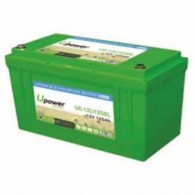 Batería de litio monoblock 12V/125Ah U-power Ecoline