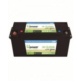 Batería de litio monoblock 12V/200Ah U-power Ecoline