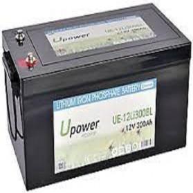 Batería de litio monoblock 12V/300Ah U-power Ecoline