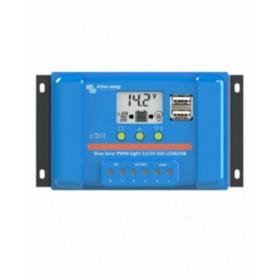 Regulador de carga Victron PWM BlueSolar 12V/24V 20A LCD-USB