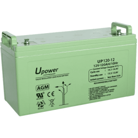 Batería AGM 12V 120Ah MU-UP120-12