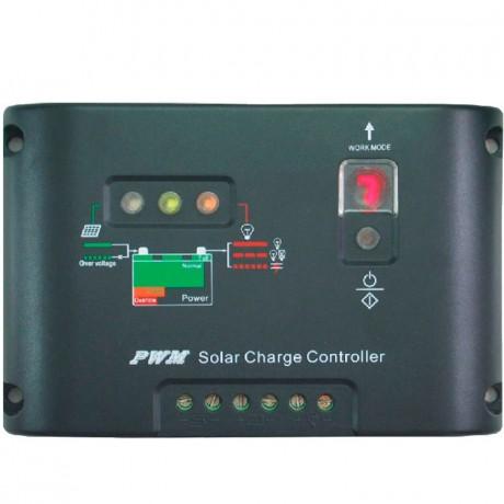 Regulador de carga PWM 12/24V.10A. 10I-EC