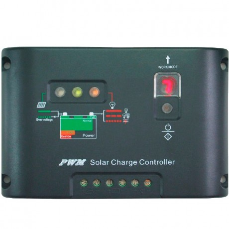 Regulador de carga PWM 12/24V.20A. 20I-EC
