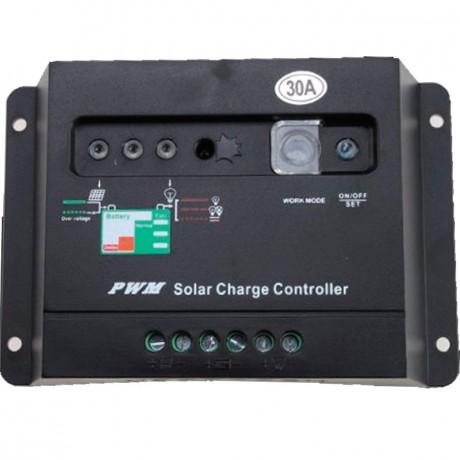 Regulador de carga PWM 12/24V.30A. 30I
