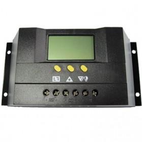 Regulador de carga PWM 12/24V.30A, con display