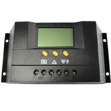 Regulador de carga PWM 12/24V.30A, con display