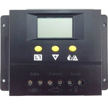 Regulador de carga PWM 12/24V.60A, con display