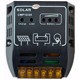 Regulador de carga PWM 12/24V.10A. CMP12