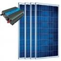 Kit de conexión a red 600 Wp (600 Wn). Munchen Solar 4x150Wp