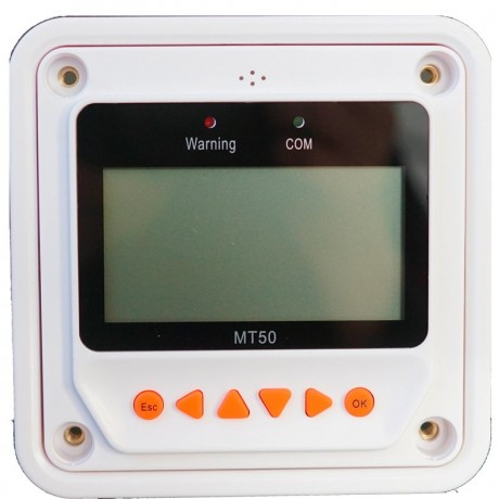 Display para regulador EpSolar TRACER. MT-50.