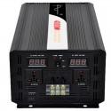 Inversor de onda pura Efitron 24V/4000W. (8000 W pico) con dos dispalys de tensión