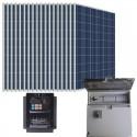 Kit bombeo solar directo de 3 CV. Trifásico 380V (400V)