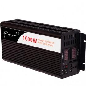 Inversor de onda pura Efitron 12V/1000W. (2000 W pico)