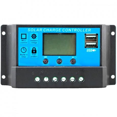 Regulador de carga PWM 12/24V.10A. CM20D