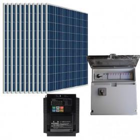 Kit bombeo solar directo de 2 CV. Trifásico 230V