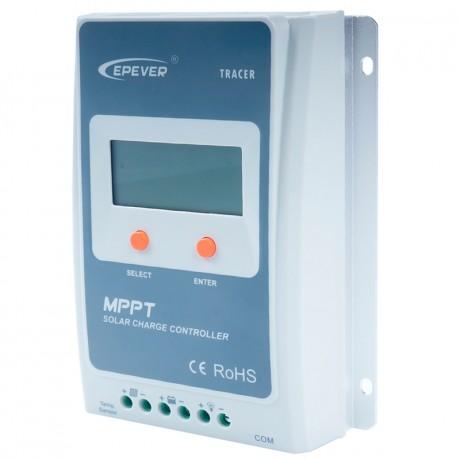 Regulador con display MPPT puro 12/24V.30A. Vmax: 100V. TRACER3210A