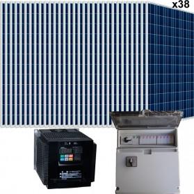 Kit bombeo solar directo de 5.5 CV. Trifásico 380V (400V)