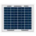 Placa solar fotovoltaica policristalina 12V/5 Wp SCL-5P.