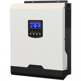 Inversor hibrido (3 en 1) de 24V/300VA (2400 W), MPPT 25A y cargador de 30A.