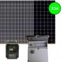 Kit bombeo solar directo de 4 CV. Trifásico 380V (400V)