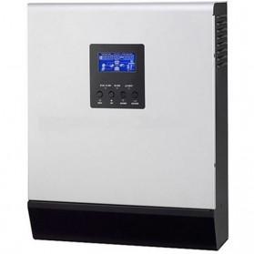 Inversor hibrido (3 en 1) de 12V/1000VA (800 W), PWM 50A y cargador de 20A. PS-1K