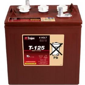 Batería Monoblock Trojan T125 de 6V/266 Ah en C100 (240 Ah en C20)