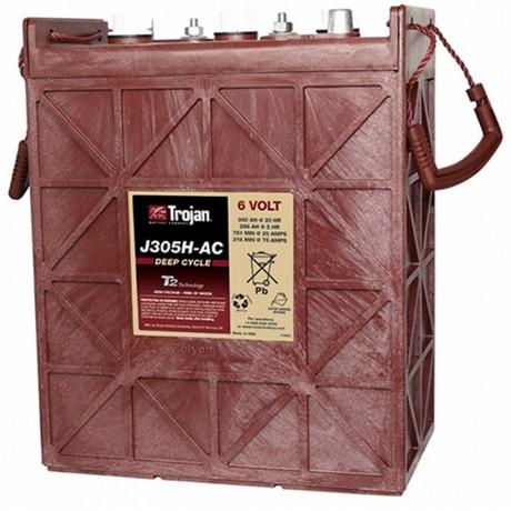 Batería Monoblock Trojan J305H-AC de 6V/400 Ah en C100 (360 Ah en C20)