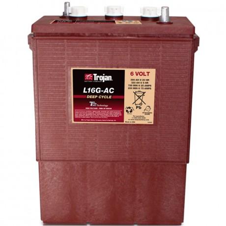 Batería Monoblock Trojan L16G-AC de 6V/433 Ah en C100 (390 Ah en C20)