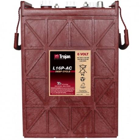 Batería Monoblock Trojan L16P-AC de 6V/467 Ah en C100 (420 Ah en C20)