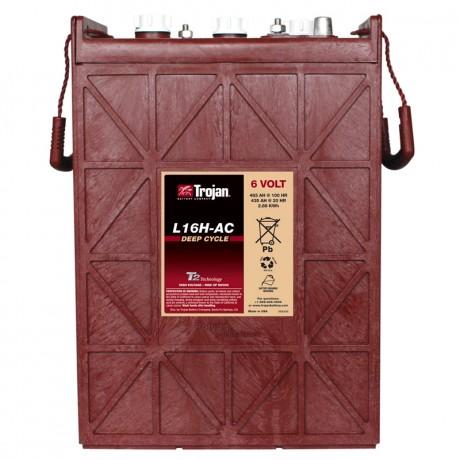 Batería Monoblock Trojan L16H-AC de 6V/483 Ah en C100 (435 Ah en C20)