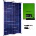 Kit fotovoltaico aislada 900Wh/día, 230V/1000W con cargador 20A (Pot.: 275 Wp). Vbatería: 12V