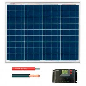 Kit fotovoltaico aislada 180 Wh/día a 12V