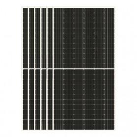 Kit de SEIS paneles solares de 24V/440 Wp monocristalina de 144 células. Kaseel