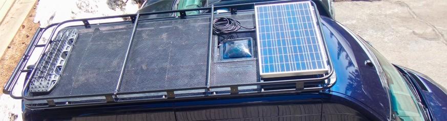 Kits Solar para Furgonetas