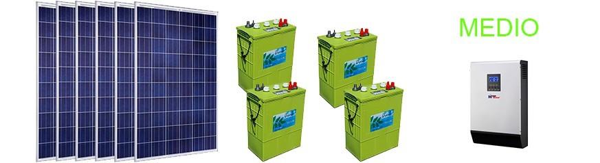 Kits con baterías medio